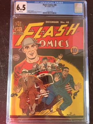 Flash Comics #48 CGC 6.5 w