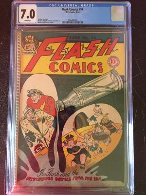 Flash Comics #54 CGC 7.0 w