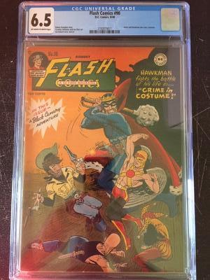 Flash Comics #98 CGC 6.5 ow/w