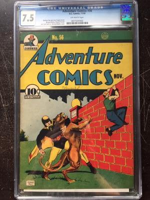 Adventure Comics #56 CGC 7.5 ow