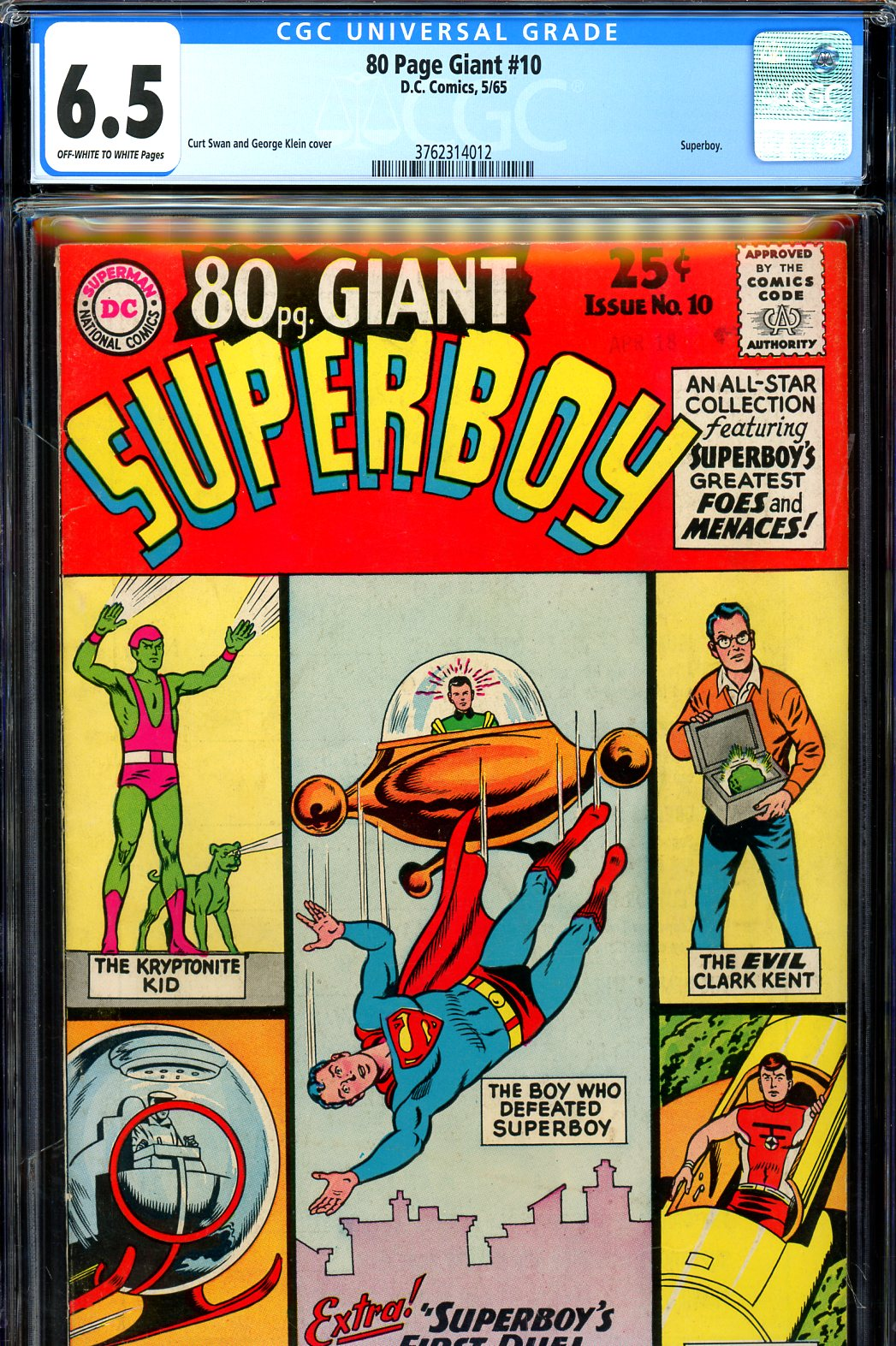 80 Page Giant #10 CGC 6.5 ow/w