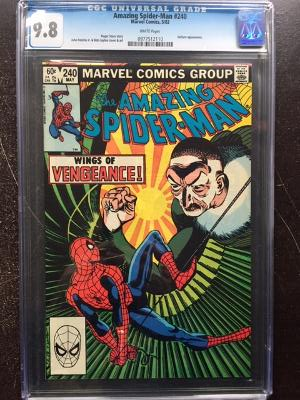 Amazing Spider-Man #240 CGC 9.8 w