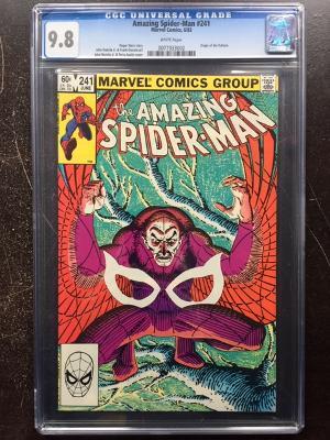 Amazing Spider-Man #241 CGC 9.8 w
