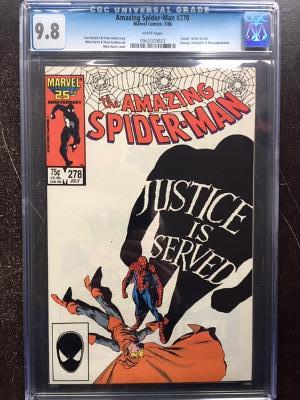 Amazing Spider-Man #278 CGC 9.8 w