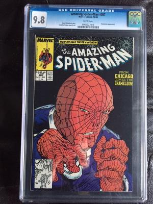 Amazing Spider-Man #307 CGC 9.8 w