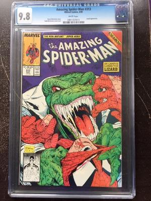 Amazing Spider-Man #313 CGC 9.8 w