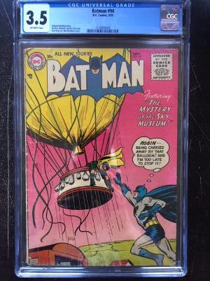 Batman #94 CGC 3.5 ow