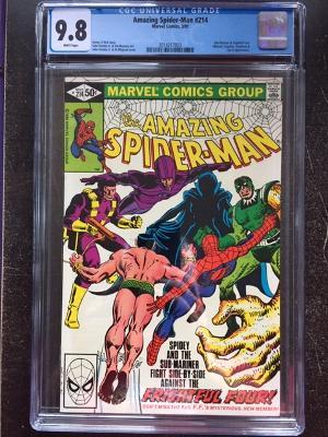 Amazing Spider-Man #214 CGC 9.8 w