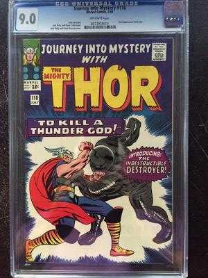 Journey Into Mystery #118 CGC 9.0 ow