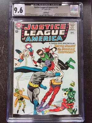 Justice League of America #35 CGC 9.6 ow/w Northland