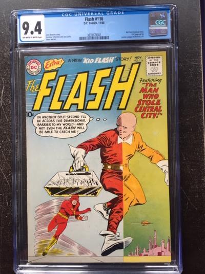 Flash #116 CGC 9.4 ow/w