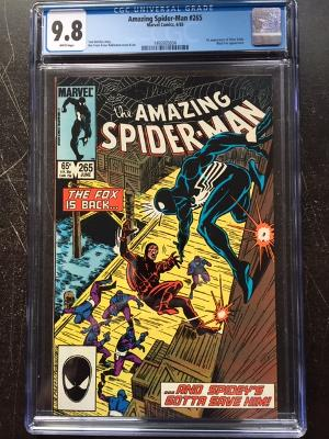Amazing Spider-Man #265 CGC 9.8 w