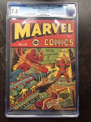 Marvel Mystery Comics #19 CGC 7.5 cr/ow