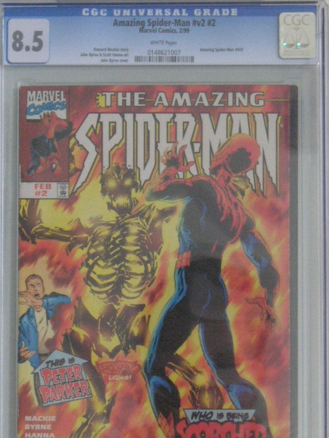 Amazing Spider-Man Vol 2 #2 CGC 8.5 w