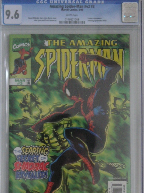 Amazing Spider-Man Vol 2 #3 CGC 9.6 w