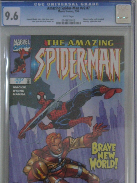 Amazing Spider-Man Vol 2 #7 CGC 9.6 w