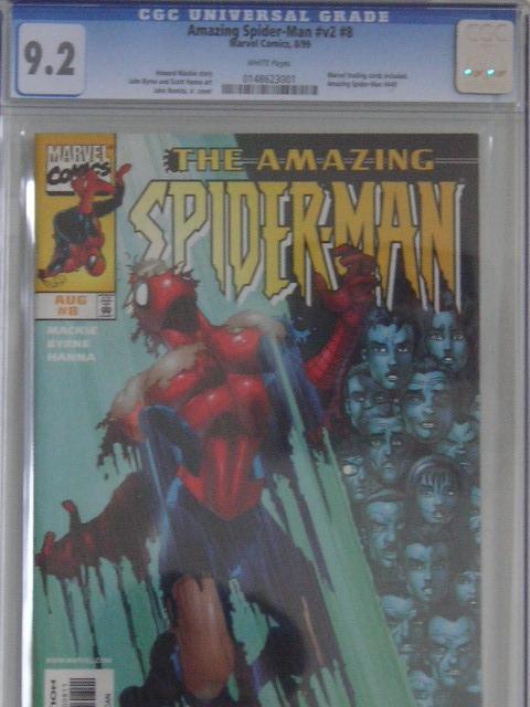 Amazing Spider-Man Vol 2 #8 CGC 9.2 w