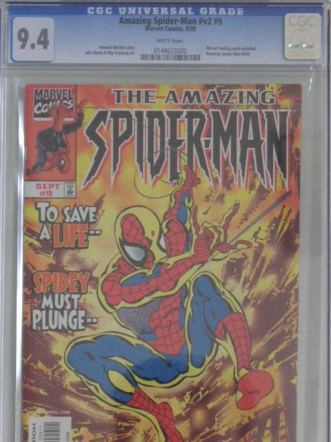 Amazing Spider-Man Vol 2 #9 CGC 9.4 w