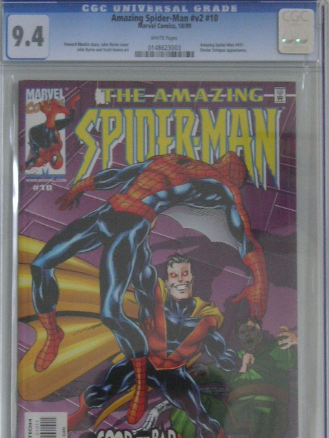 Amazing Spider-Man Vol 2 #10 CGC 9.4 w