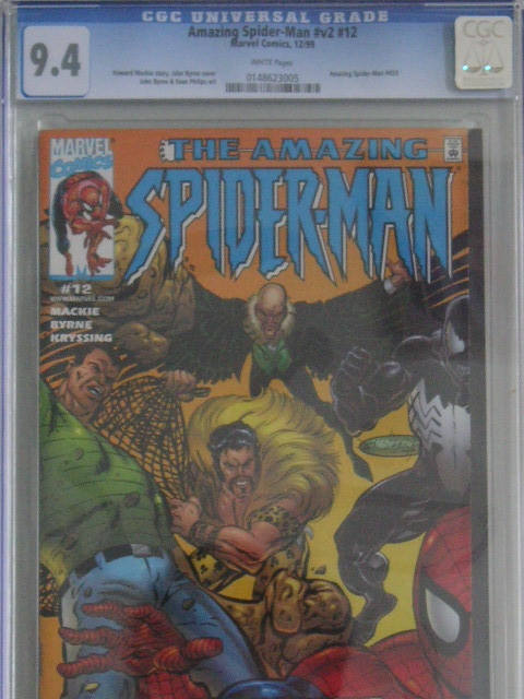 Amazing Spider-Man Vol 2 #12 CGC 9.4 w