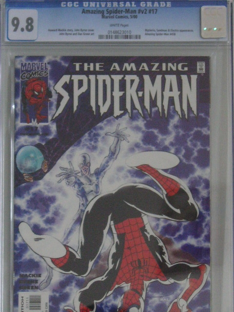 Amazing Spider-Man Vol 2 #17 CGC 9.8 w