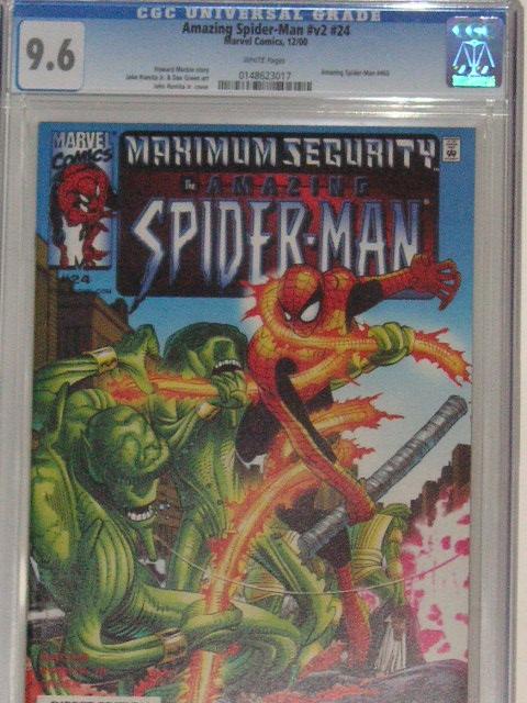 Amazing Spider-Man Vol 2 #24 CGC 9.6 w