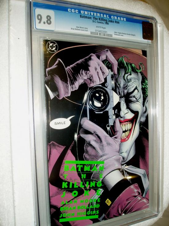 Batman: The Killing Joke CGC 9.8 w