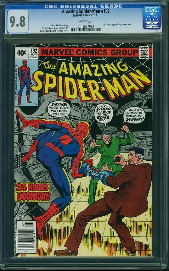 Amazing Spider-Man #192 CGC 9.8 w