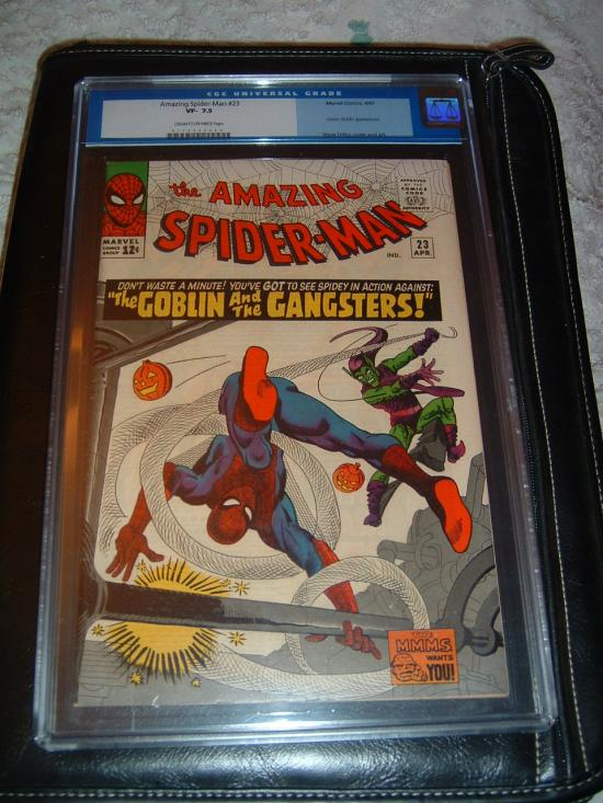 Amazing Spider-Man #23 CGC 7.5 cr/ow