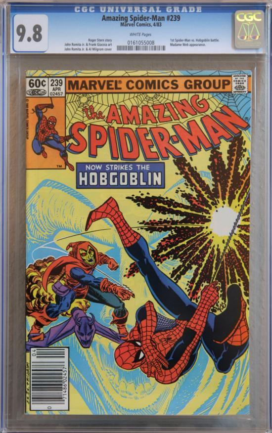 Amazing Spider-Man #239 CGC 9.8 w