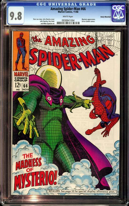 Amazing Spider-Man #66 CGC 9.8 w Rocky Mountain