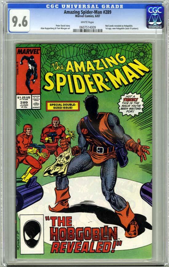 Amazing Spider-Man #289 CGC 9.6 w