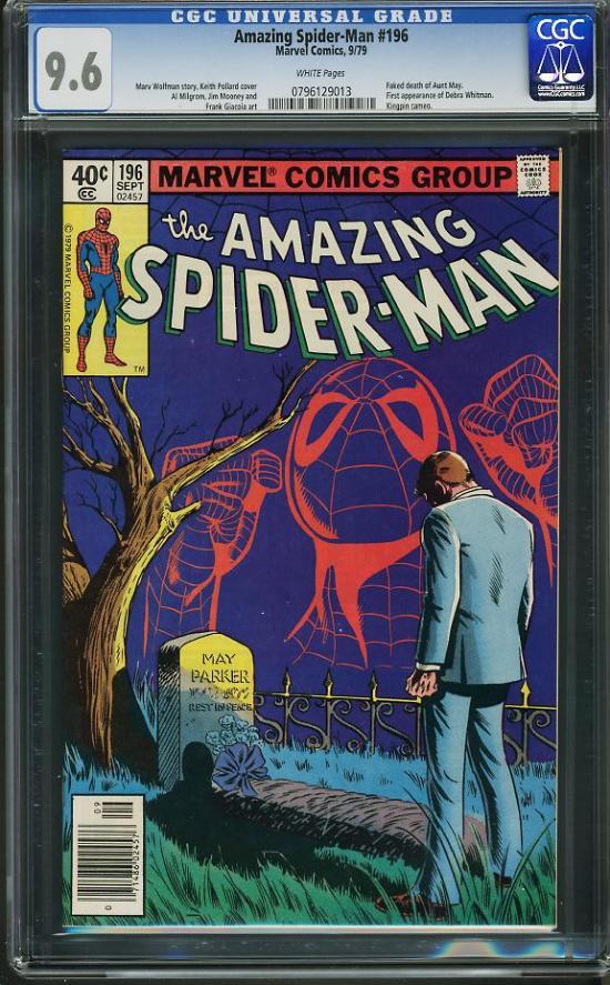Amazing Spider-Man #196 CGC 9.6 w
