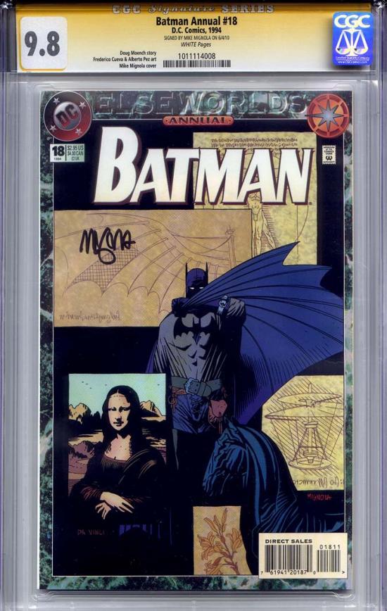 Batman Annual #18 CGC 9.8 w CGC Signature SERIES