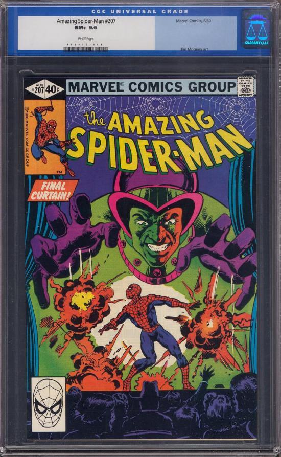 Amazing Spider-Man #207 CGC 9.6 w