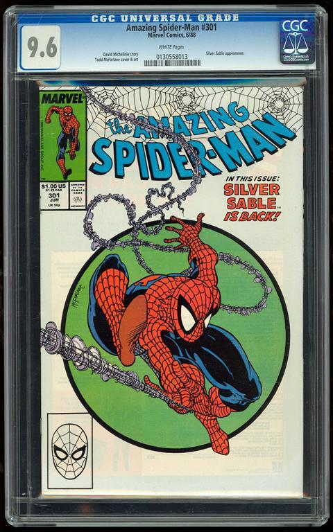 Amazing Spider-Man #301 CGC 9.6 w