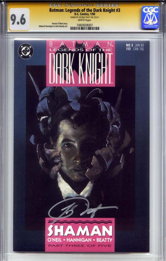 Batman: Legends of the Dark Knight #3 CGC 9.6 w CGC Signature SERIES