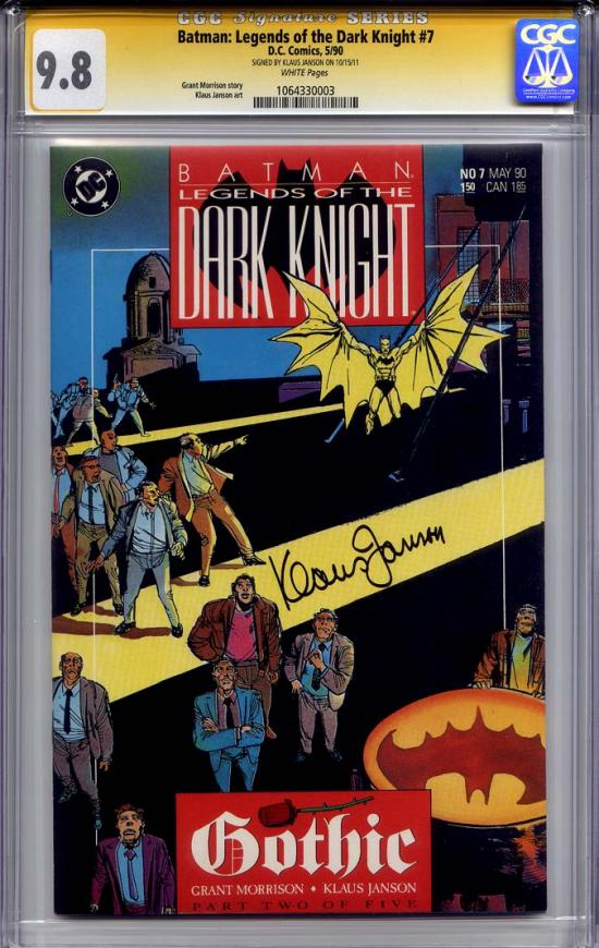Batman: Legends of the Dark Knight #7 CGC 9.8 w CGC Signature SERIES