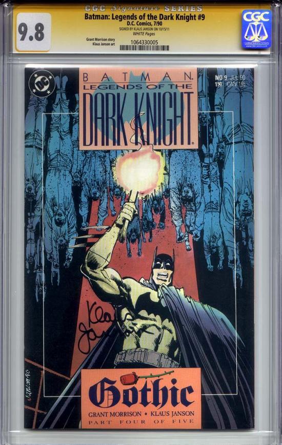 Batman: Legends of the Dark Knight #9 CGC 9.8 w CGC Signature SERIES