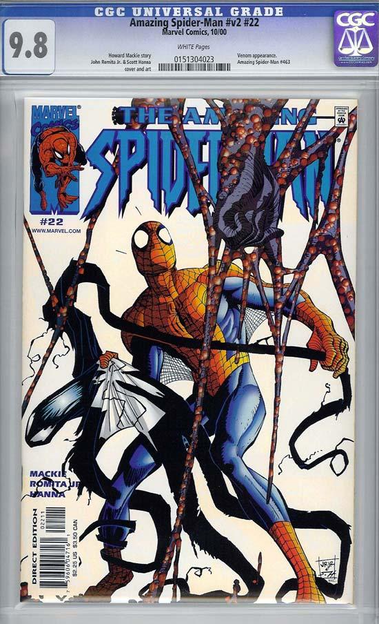 Amazing Spider-Man Vol 2 #22 CGC 9.8 w