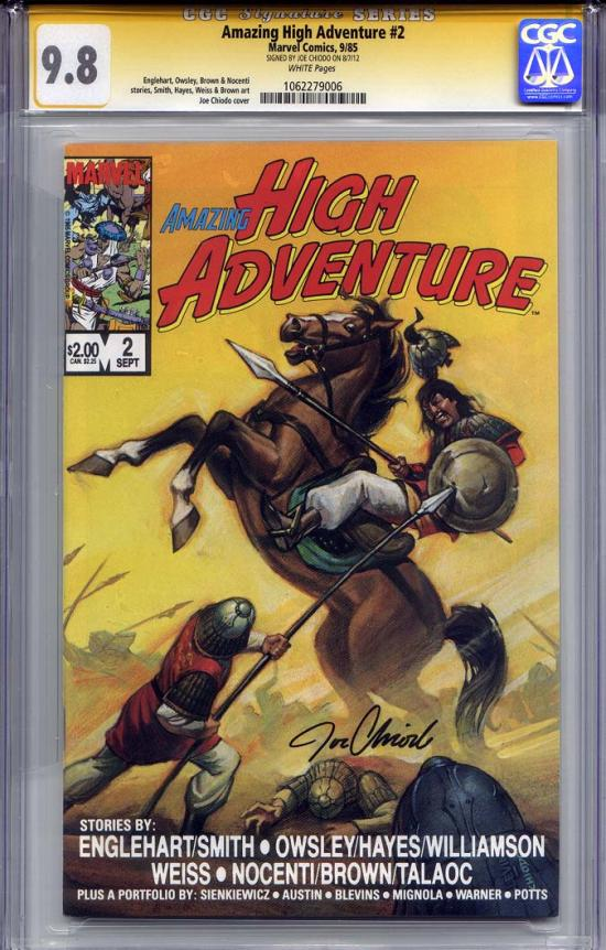 Amazing High Adventures #2 CGC 9.8 w CGC Signature SERIES