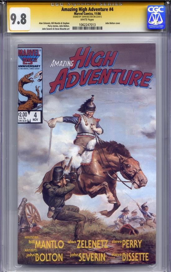 Amazing High Adventures #4 CGC 9.8 w CGC Signature SERIES
