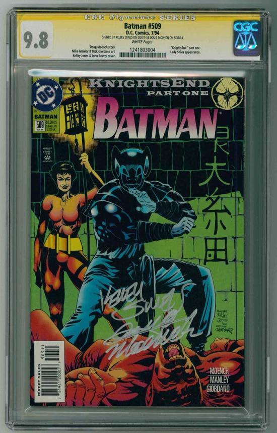 Batman #509 CGC 9.8 w CGC Signature SERIES