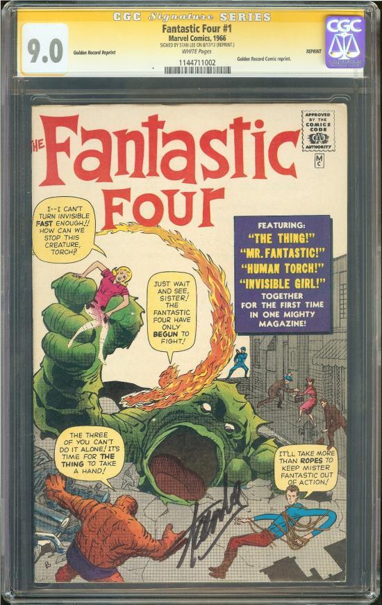 Fantastic Four #1 CGC 9.0 w CGC Signature SERIES