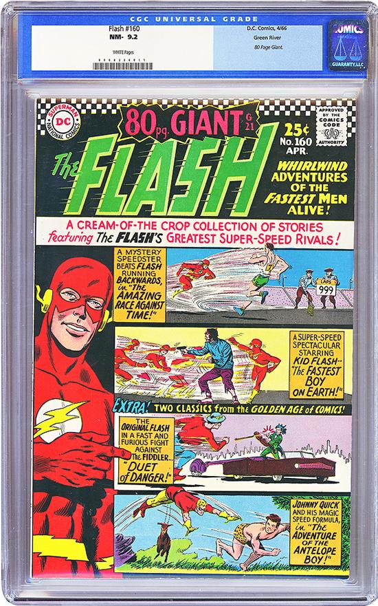 Flash #160 CGC 9.2 w Green River