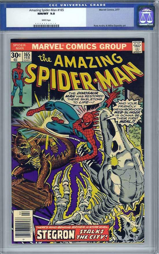 Amazing Spider-Man #165 CGC 9.8 w