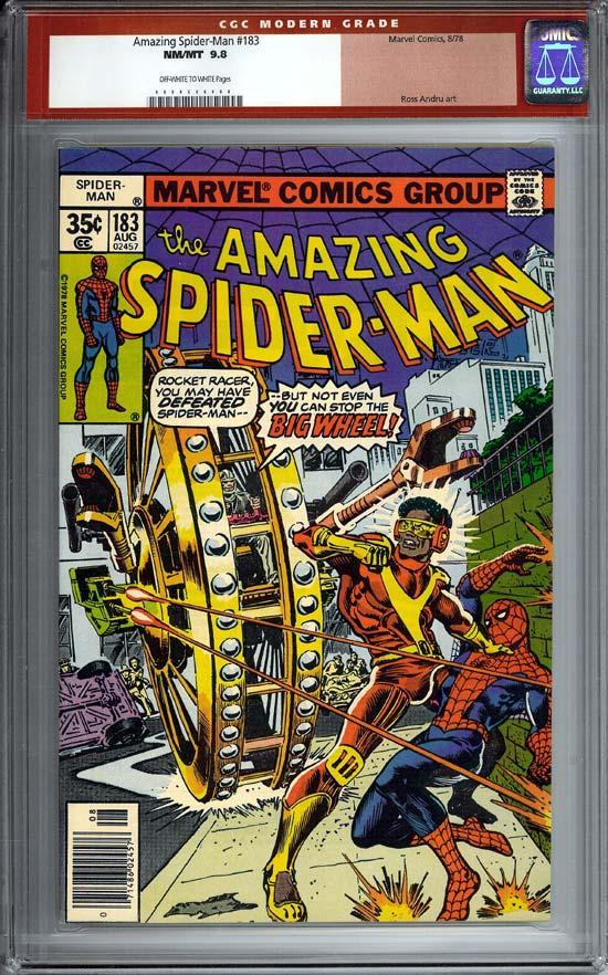 Amazing Spider-Man #183 CGC 9.8ow/w