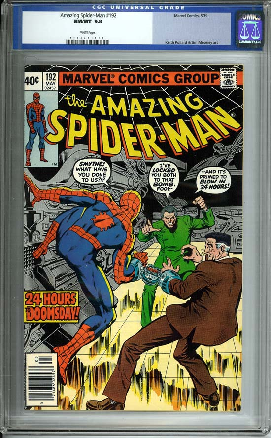 Amazing Spider-Man #192 CGC 9.8w