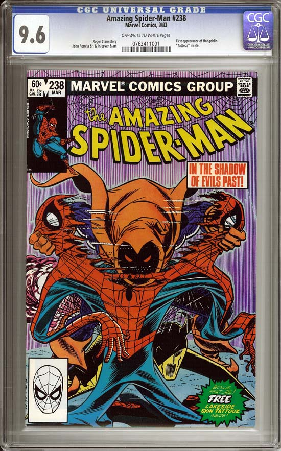 Amazing Spider-Man #238 CGC 9.6ow/w