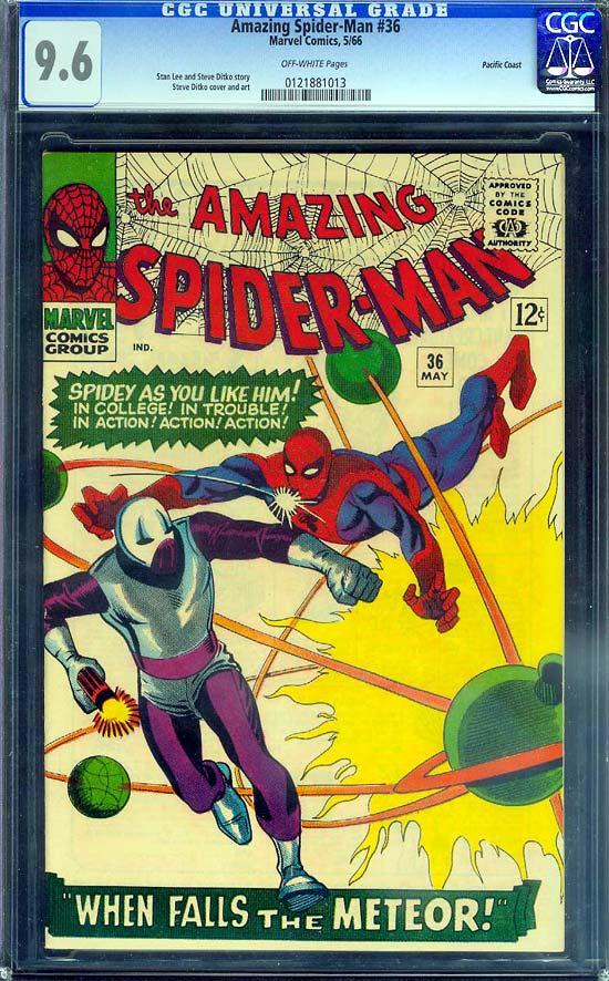 Amazing Spider-Man #36 CGC 9.6 ow Pacific Coast